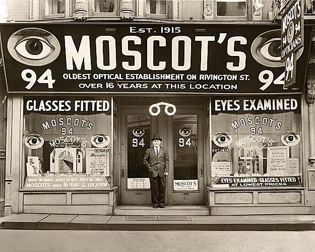 Primo negozio Moscot
