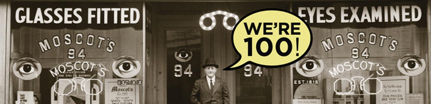 Moscot 100 anni